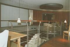45B - balustrada stal-drewno (restauracja)