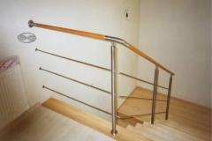 Bs-dr12_r - balustrada stal-drewno