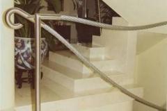 12B - balustrada linowa