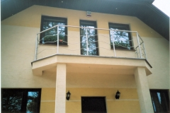 Bf8a - balustrada falista ze stali Inox balkonowa_ar