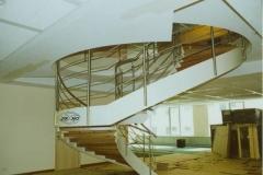 134B - balustrada stalowa schodowa, krecona