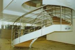 135B - balustrada stalowa schodowa, krecona