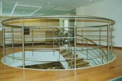 138B - balustrada stalowa schodowa, krecona