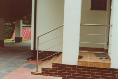 46B - balustrada stalowa