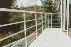 49B - balustrada stal balkonowa
