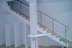 Bs21a - balustrada stalowa (rurka i pręt )