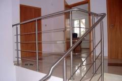 Bs21b - balustrada stalowa (rurka i pręt)