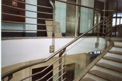 Bs30b - balustrada stalowa (Białołęka)