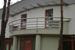 Bs32b_r - balustrada z rury Inox