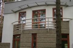 Bs32e_r - balustrada z rury Inox
