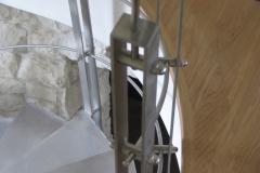 Bs39d_419B_ balustrada stal Inox do schodow kreconych
