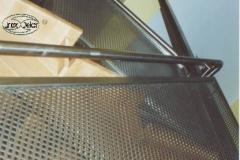 Bs5d - balustrada stal - blacha perforowana