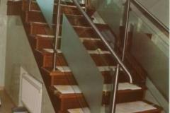 103B - balustrada stal - szklo