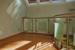 126B - balustrada stal - szklo