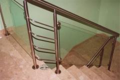 Bs-sz3 - balustrada stal-szklo
