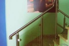 Bs-sz3c - balustrada stal-szklo