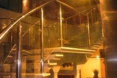 Bs-sz4d - balustrada stal-szkło CF (335B)