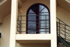 1K - schody czarne, zielony proszek (Villa Europa)