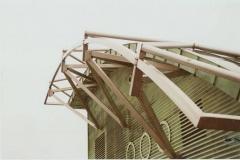 20K - konstrukcja dachu lukowego