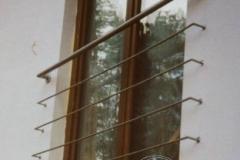 32K - oslona balkonu