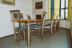 10-Mk13Mb9 - krzesla i biurko ze stali kwasoodpornej