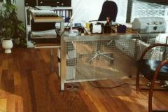 11-79M- biurko ze stali kwasoodpornej