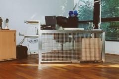 12-80M - biurko ze stali kwasoodpornej