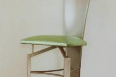 7-Mk11x - krzeslo trojkatne zielone