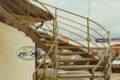 2K - schody czarne, zielony proszek (Villa Europa) r