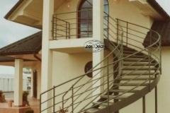 6K- schody czarne, zielony proszek (Villa Europa) r