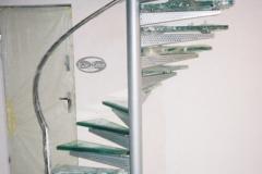 Ks9 - schody zabiegowe szklane trepy