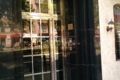 247W - drzwi zewnętrzne - stal polerowana