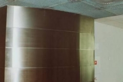 43W - ściana stalowa
