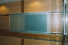 51W - ekran szklany przesuwany