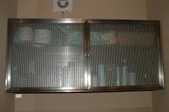 Wsz2 - szafka Inox blacha perforowana wisząca
